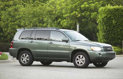 Toyota on Toyota Highlander Limited V6 4x4  2004